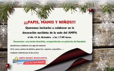 Decoración navideña – AMPA