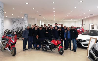 Visita a Honda Canarias