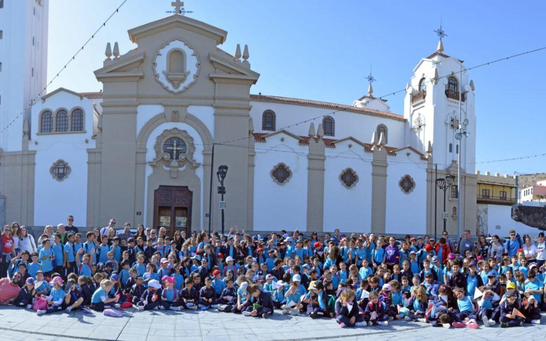 Visita a la Virgen de Candelaria