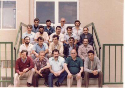 1981 Grupo de profesores en La Cuesta