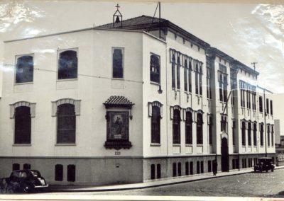 Aspecto exterior del Antiguo Colegio de Galcerán