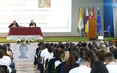 Sra. Dña. María Teresa Acosta Tejera en Salesianos La Cuesta