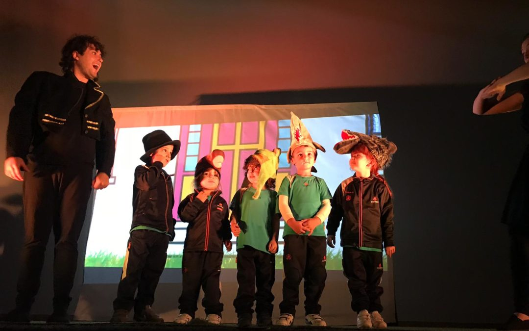 Obra de teatro en inglés (Infantil – Primaria)