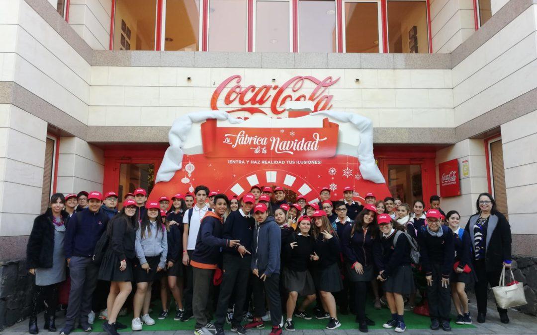 Visita a la Coca Cola